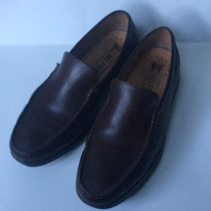 Mephisto Sz 8 brown leather loafers shoes